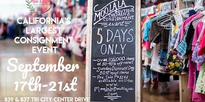 Moo La La Boutique Children's Consignment Event Fall Presale