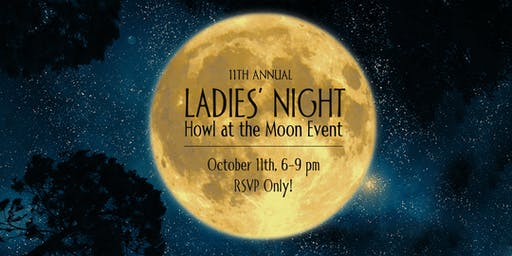 Ladies Night Howl at the Moon- Chick Flicks II: Hunks & Hotties