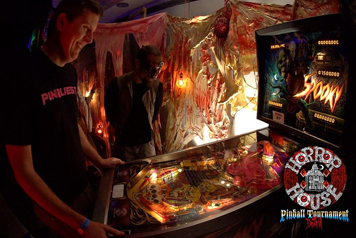 Horrorhouse Fest Pinball Tournament of Death at Pinball Expo! DAY 02 image