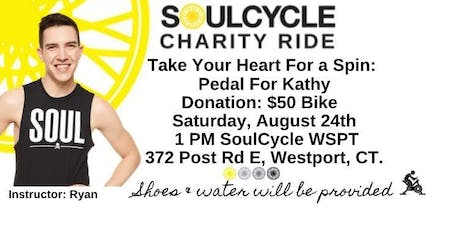 Take Your Heart For A Spin: SoulCycle Charity Ride for Kathy Schultz tickets