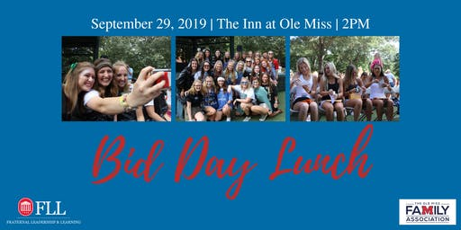 2019 Panhellenic Bid Day Lunch
