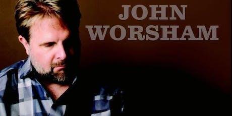 Live Music w/ John Worsham at Vino Mas tickets