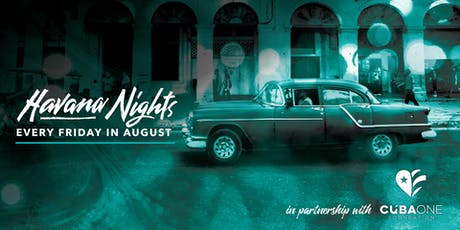 August Havana Nights  tickets
