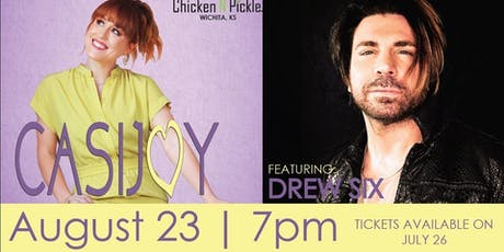 Casi Joy Concert featuring Drew Six tickets