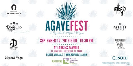 Agave Fest SC 2019 - A Tequila and Mezcal Utopia tickets