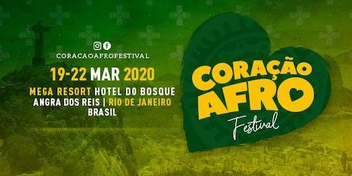 CORAÇÃO AFRO Festival Internacional 2020 - (19, 20, 21, 22 Mar)