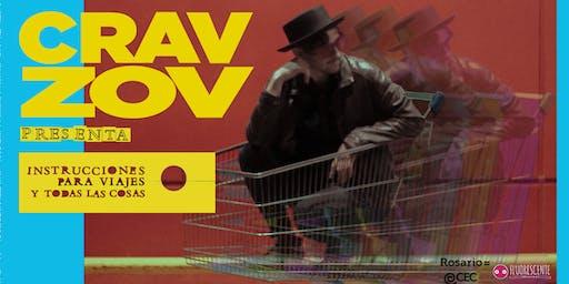 Cravzov presenta su disco debut