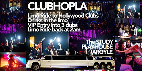 LIMO RIDE TO HOLLYWOOD CLUBS  tickets