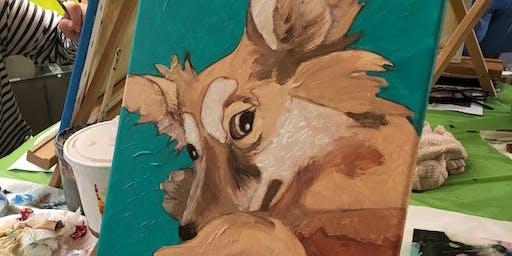 Paint Your: Pet Portrait Afternoon!