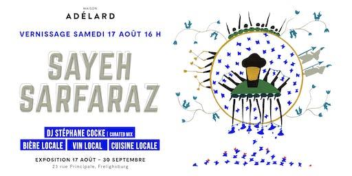Vernissage Sayeh Sarfaraz