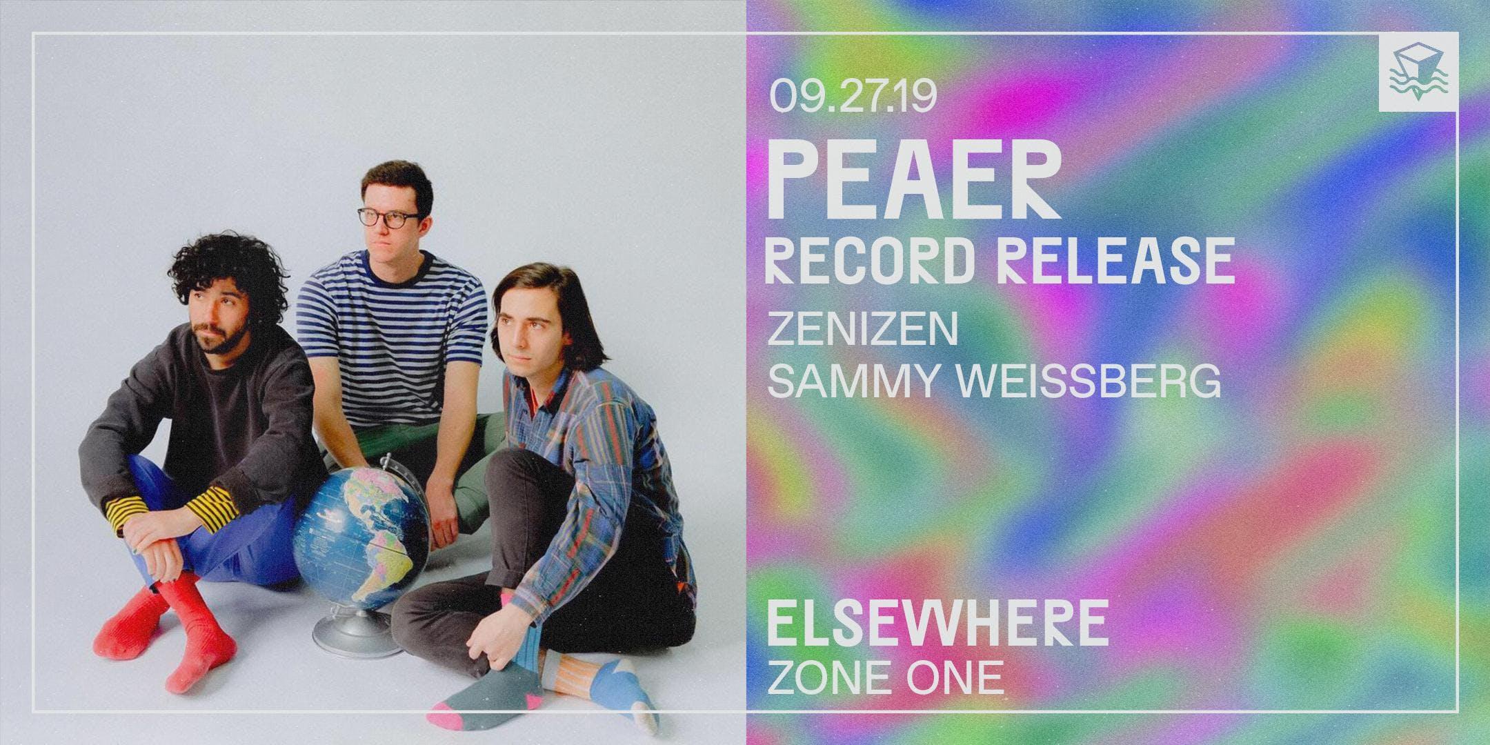 Peaer (Record Release!)