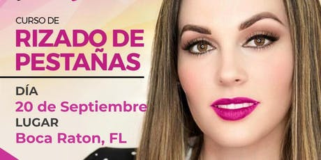 Curso de Rizado de Pestañas - Boca Raton, FL tickets