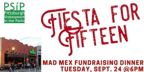 Fiesta for Fifteen tickets