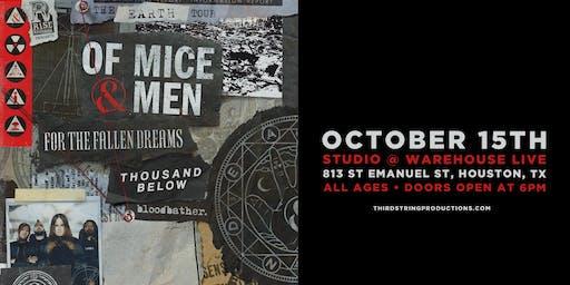 Of Mice & Men at Warehouse Live