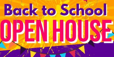 Back To School Open House! tickets