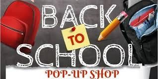 Back-to-School Pop-up Shop