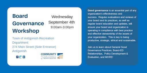 Board Governance Workshop - Highland Region