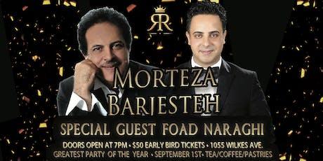 RR Presents: Morteza Barjesteh Live Concert ~ Iranian Sensation! tickets