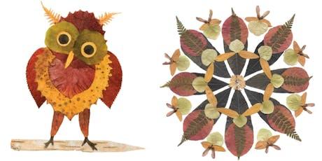 Leaf Collage Art Workshop  tickets