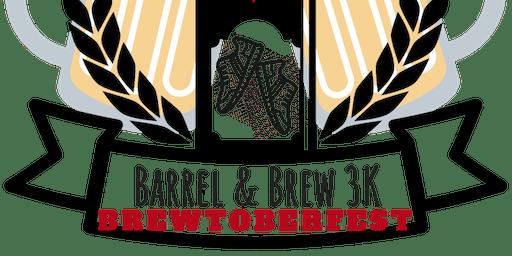 Barrel & Brewtoberfest - 3K Fun Run with Oktoberfest!