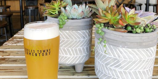 Plant Party at Charles Towne Fermentory
