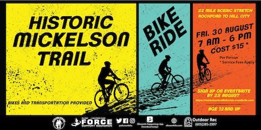 Ellsworth Mickelson Trail Bike Ride