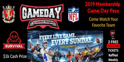 London Heights Membership Game day pass
