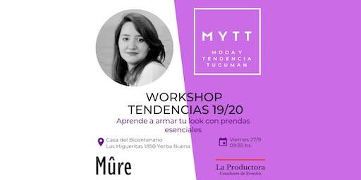MYTT - WORKSHOP TENDENCIAS 19/20