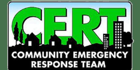 Community Emergency Response Team (CERT) 2020 Academy Los Gatos/Monte Sereno tickets