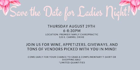 Ladies Night 2019 tickets