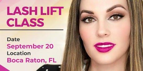 Lash Lift Class - Boca Raton, FL tickets
