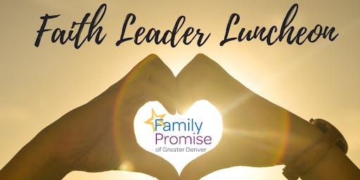 Faith Leader Luncheon
