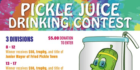 Pickle Juice Drinking Contest tickets