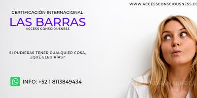 Curso de Las Barras de Access Consciousness en Monterrey