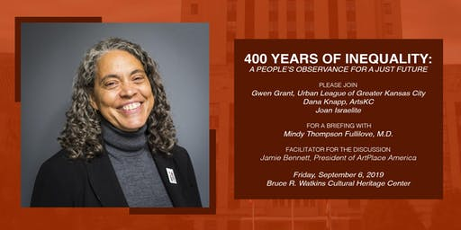 400 Years of Inequity: A People's Observance for a Just Future