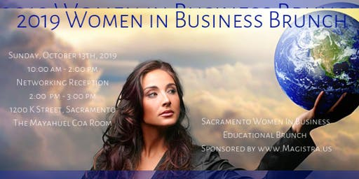 2019 Women in Business Brunch - Sacramento!