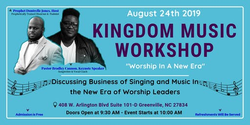 Kingdom Music Workshop - Worship In A New Era