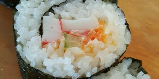 Cooking Class & Wine Tasting-Maki Your own Sushi