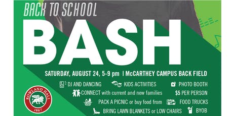 Rowland Hall Back to School Bash tickets