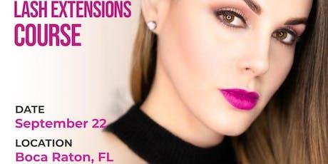 Lash Extensions Class - Boca Raton, FL tickets