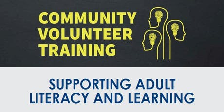 Community Volunteer Training - September 21, 2019 tickets