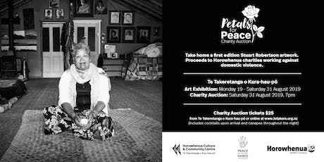 Petals for Peace Charity Auction Event tickets