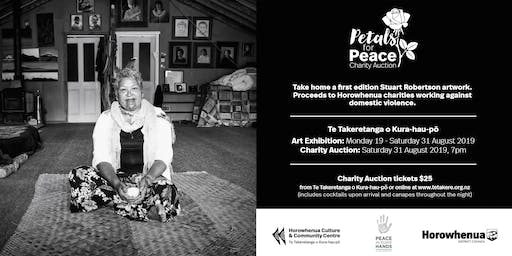 Petals for Peace Charity Auction Event