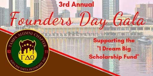 Tampa Alumni Chapter of Iota Phi Theta Fraternity, Inc. 3rd Annual Founders Day Gala