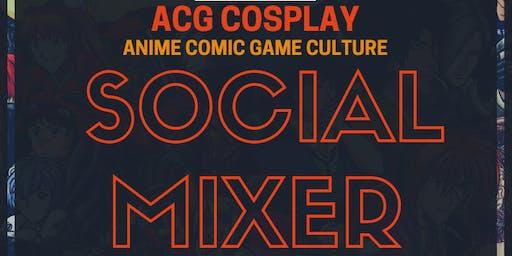 ACG Cosplay Social Mixer