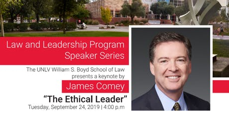 Law and Leadership Program Speaker Series: James Comey tickets