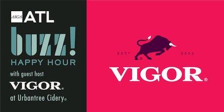 AIGA ATL August Buzz Happy Hour with Vigor® tickets