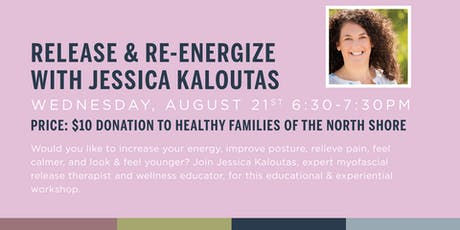 Release & Re-Energize with Jessica Kaloutas tickets