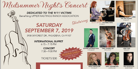 Midsummer Night's Concert - Guest Victoria Fatu tickets