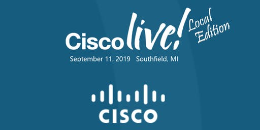 Cisco Live Local Edition- Back to School Special